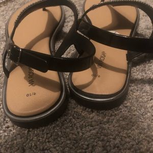 via rosa Shoes - NWOT Via Rosa Sandals with gems and black straps